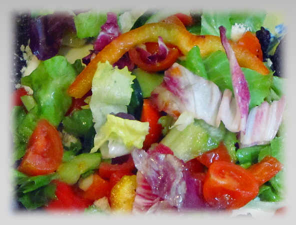 Salat, selbstgemacht